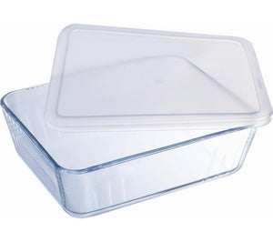 Cook and store glass dish 25x20cm 2.6L