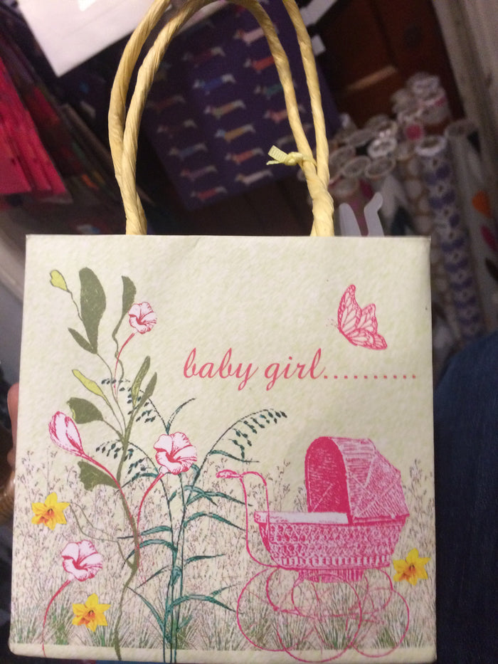Baby Girl welcoming bag