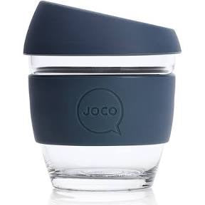 Joco - 8oz Glass Coffee Cup - Folkstone Grey