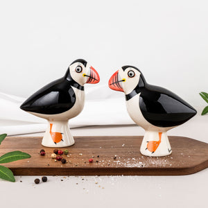 Hannah Turner - Puffin Salt and Pepper Shakers