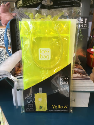 Basic Yellow Ice bag 100% fresh