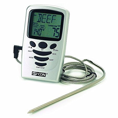 CDN - programmable probe thermometer/timer
