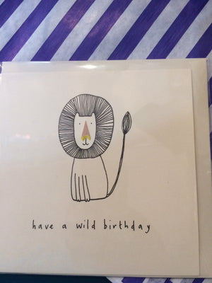 Card have a wild birthday