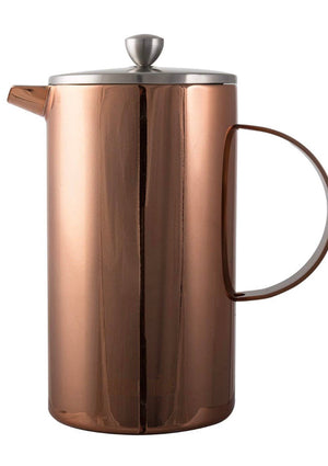La Cafetiere - Double Walled 8 Cup Copper Cafetiere