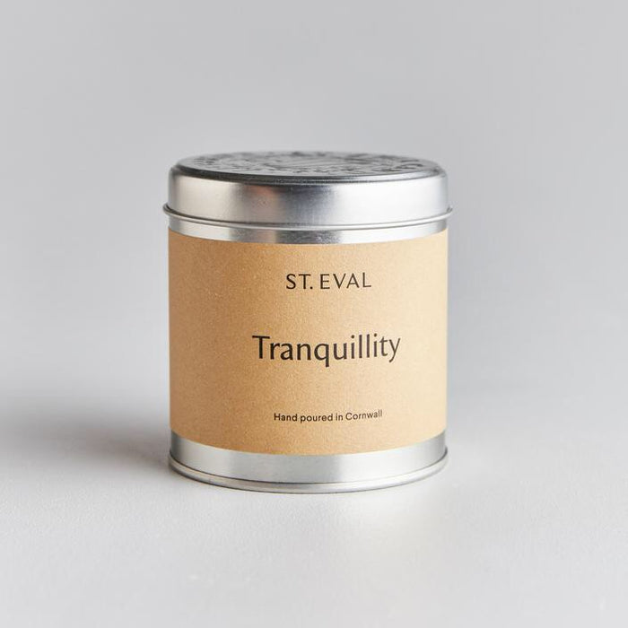 St Eval Candle Company - Tranquillity Scented Tin Candle