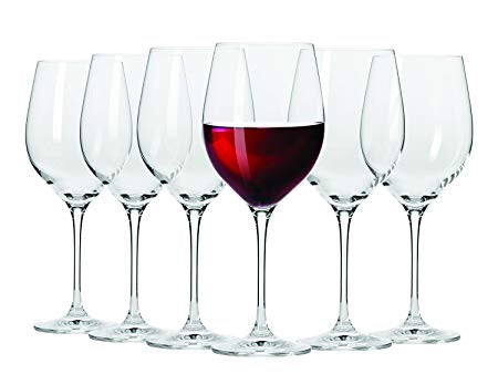 Maxwell Williams - Vino - Set of 6 Red Wine Glasses - 480ml