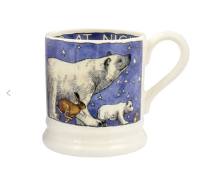Emma Bridgewater Winter Animals 1/2 Pint Mug