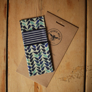 The Beeswax Wrap Co. - Cheese Pack - Dewdrop Print