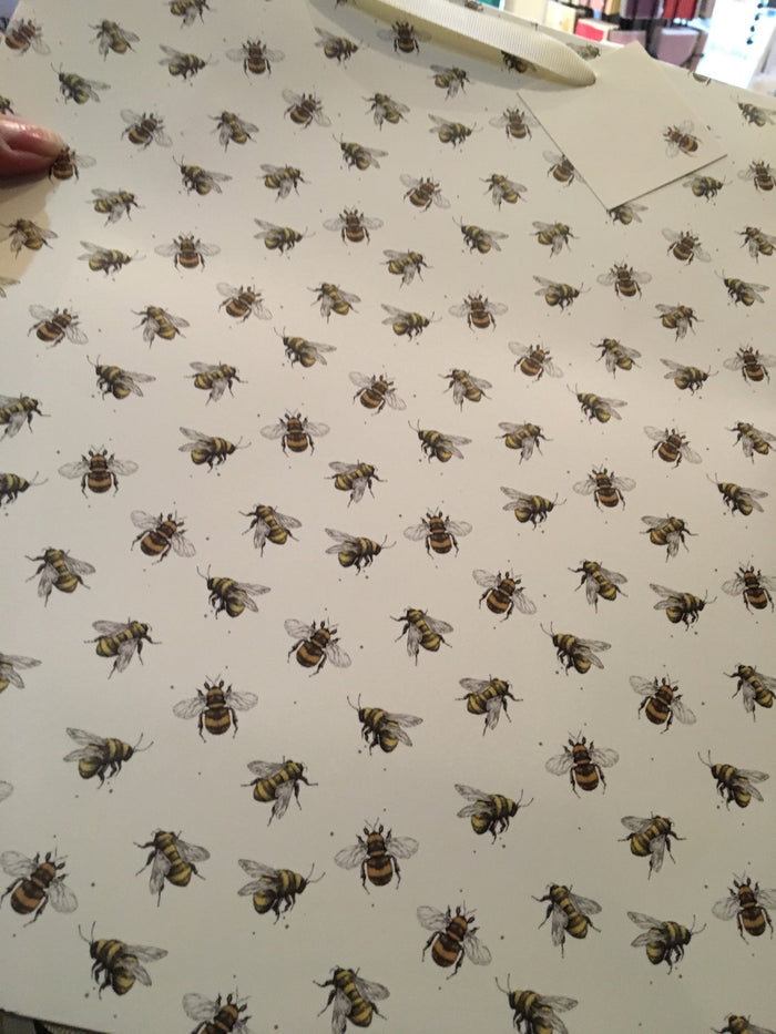 Large Bee Gift Bag
