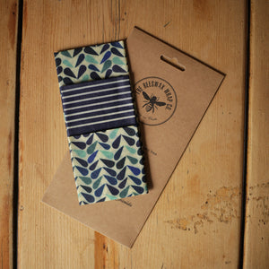 The Beeswax Wrap Co. -  Medium Kitchen Pack - Dewdrop Print