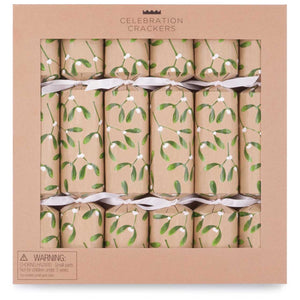 Celebration Crackers - Mistletoe - Pack of 6