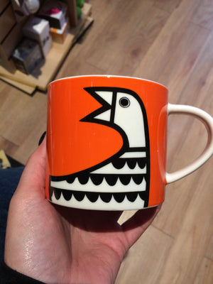 Animal magic goose mug