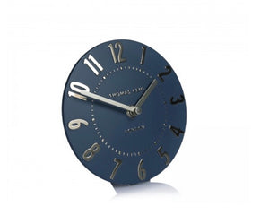 Thomas Kent Mulberry Mantel Midnight Blue Clock