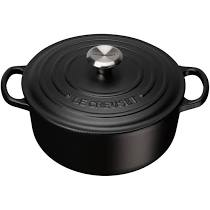 Le Creuset Cast Iron - Satin Black (8 sizes available round & oval)