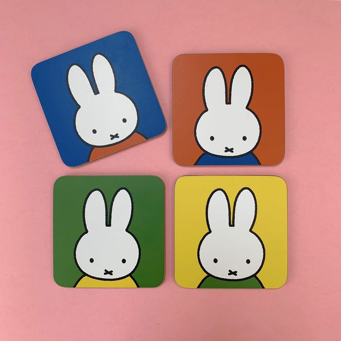 Magpie - Miffy - Coasters - Face