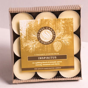 St Eval Candle Co - Inspiritus Scented Christmas Tealights pack of 9