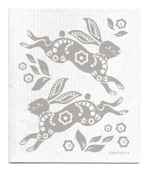 Jangneus - Grey Hare Dishcloth