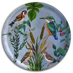 Avenida Home - Kingfisher round Tray 46cms