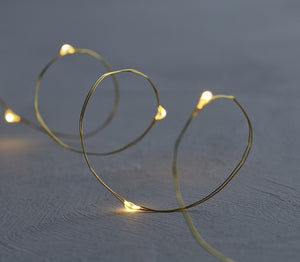 Sirius - Knirke 40 Lights - Gold/Clear