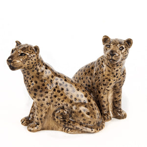 Quail - Leopard Salt and Pepper Set