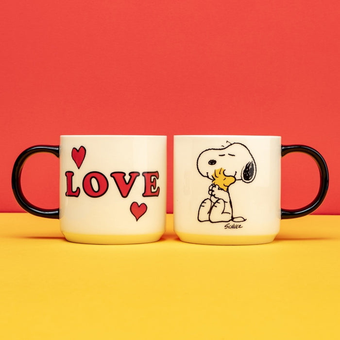 Peanuts - Bone China Mug - Love