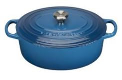 Le Creuset Cast Iron - Marsielle Blue (8 sizes available round & oval)