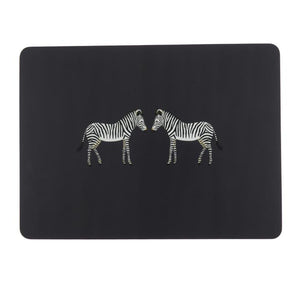 Sophie Allport Zebra Set of 4 Placemats