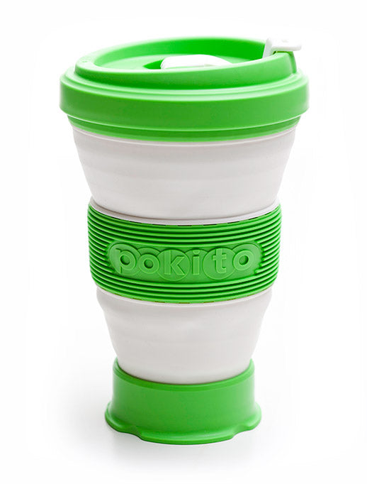 Pokito - Multi Size Coffee Cup - Lime