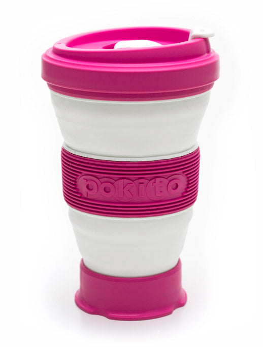 Pokito - Multi Size Coffee Cup - Raspberry