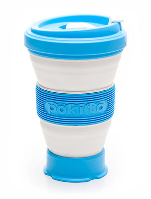 Pokito - Multi Size Coffee Cup - Sky Blue