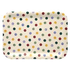 Emma Bridgewater - Polka Dot - Medium Melamine Tray