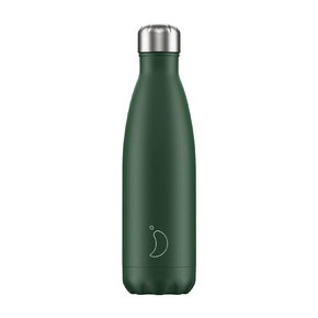 Chilly's - Matte Green Water Bottle - 500ml