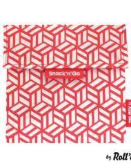 Snack n Go Reusable Snack Bag - Red