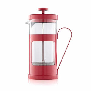 La Cafetiere 3 Cup Monaco Red