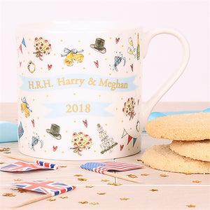 Milly Green - Royal Wedding Fine Bone China Mug 14oz