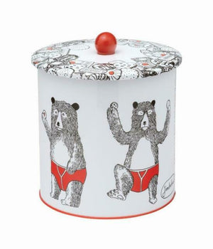 Jimbob Art - Tin Biscuit Barrel