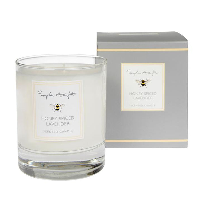Sophie Allport - Honey Spiced Lavender Scented Candle - 220g