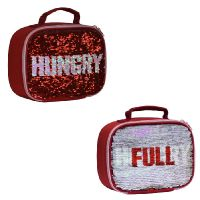 My Little Lunch Hungry Sequin Lunch Bag