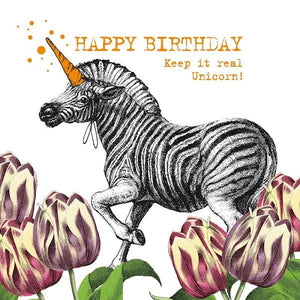 PPD - Lunch Napkins Unicorn Zebra