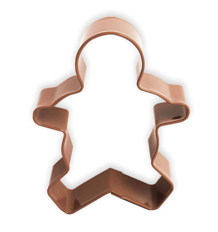 Anniversary House - Gingerbread boy Cookie Cutter - Brown