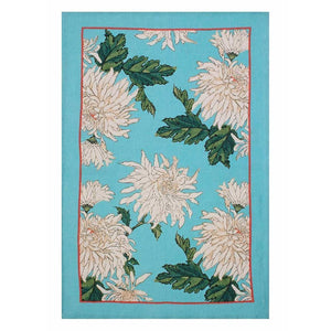 Tea Towel - Chrysanthemum, Linen
