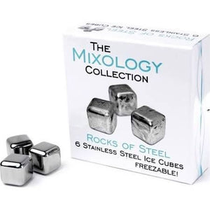 Bar Originale - Rocks Of Steel 6 Stainless Steel Ice Cubes