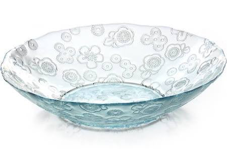 Bowl - Flora, Clear (32cm Diameter)