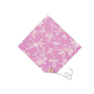 Eddingtons - Single Sandwich Wrap - Clover Print/Purple