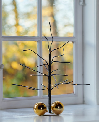 Sirius - Kia Tree Height 35cms Brown/Snowy