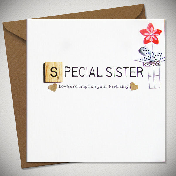 Bexy Boo Card - Special Sister