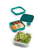 Joseph Joseph Go Eat Space Saving Salad Box - Teal