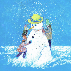 ARTISTS ON CARDS - THE SNOWMAN