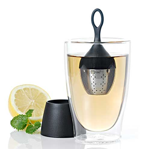 AdHoc - Floating Tea Infuser - Floatea - Black