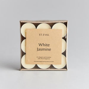St Eval Candle Co - White Jasmine Scented Tealights